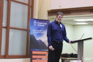 Фото: Дмитрий Попов на конференции WSD в Киеве. Описание по ссылке