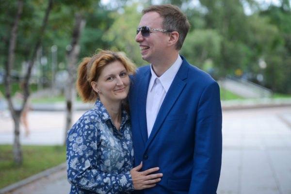 Фото: Евгений Попов со своей девушкой