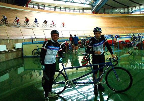 Фото с тренировки по велоспорту
