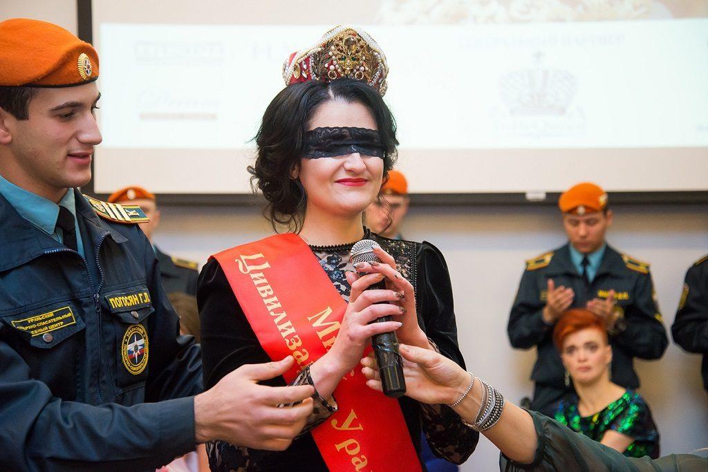 Фото с конкурса «Мисс Цивилизация Урал».