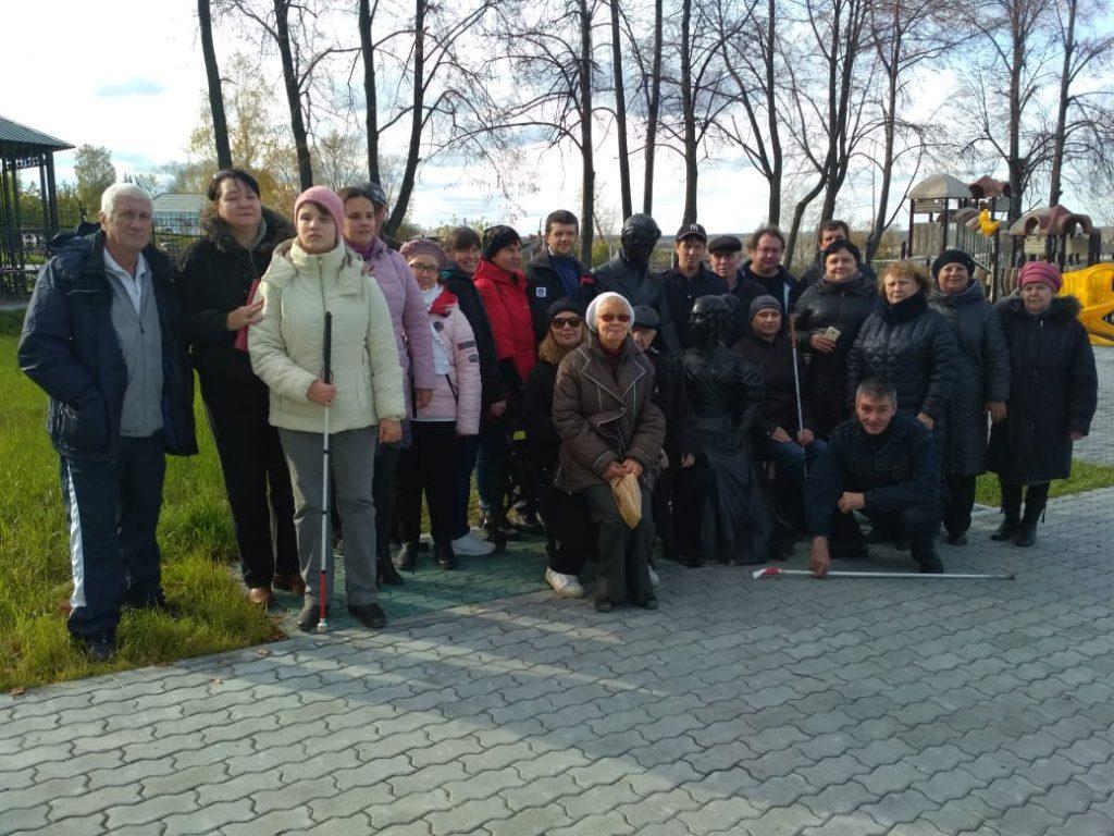 Фото с экскурсии. Парк декабристов, г. Туринск